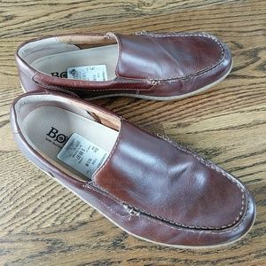 c05f9ad6fd7 Born Shoes - Mens Born Eberhard Slip On Leather Loafer Shoe
